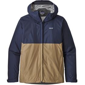 Patagonia M's Torrentshell Jacket Classic Navy/Mojave Khaki